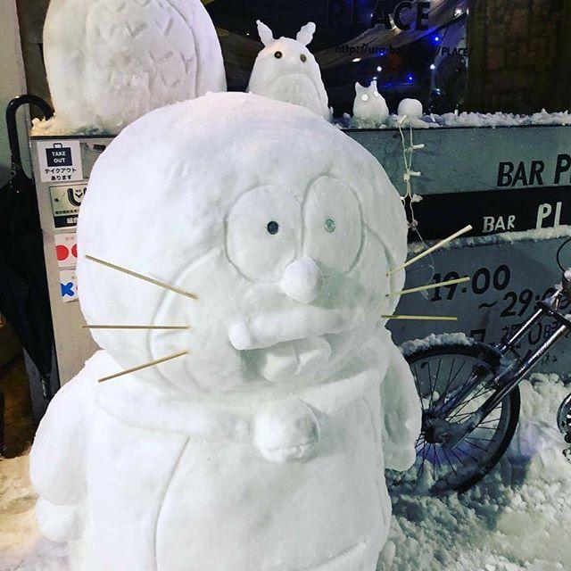 今日☆プレ☆です生憎の雪でしたが沢山のお祝いありがとうございます!狂ちゃん40になりました☆まだまだPLACE頑張ります☆これからもよろしくお願いします(*⌒▽⌒*)